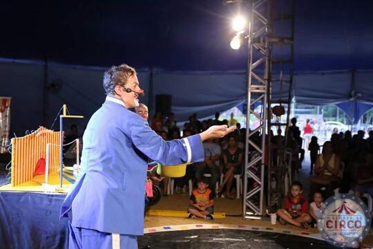 Espetáculo Infantil – Circo de pulgas