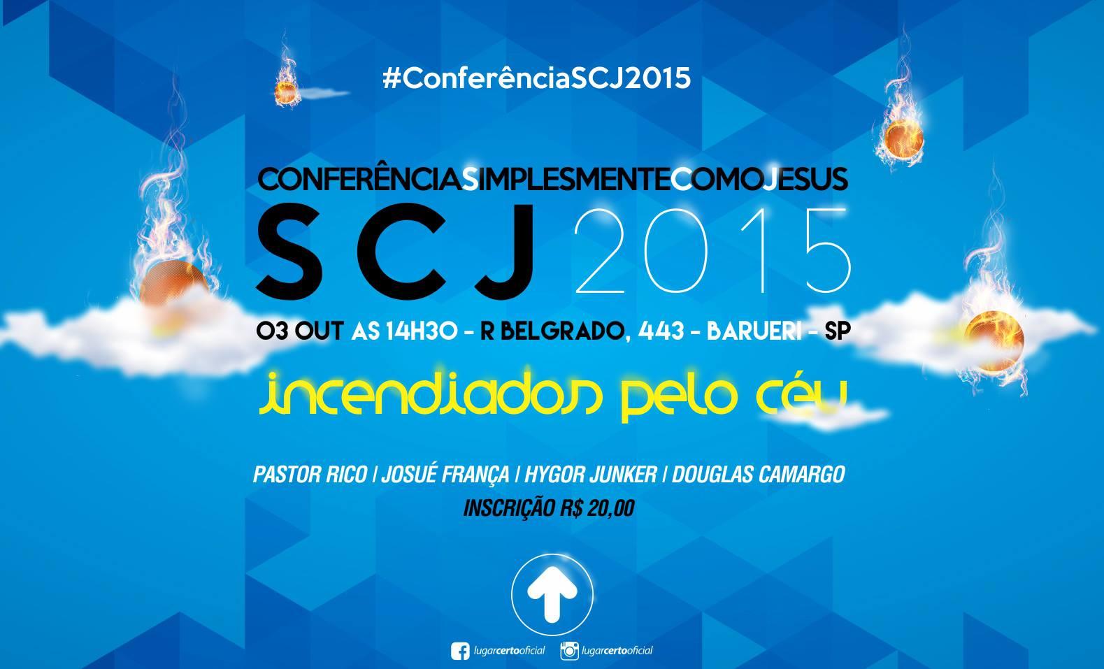 Conferência Simplesmente Como Jesus