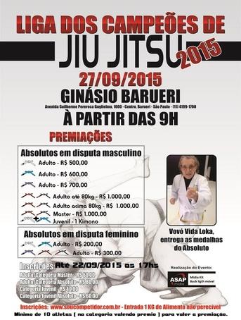 LIGA DOS CAMPEOES DE JIU-JITSU 2015