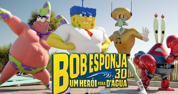 Sala Barueri de Cinema :  Bob Esponja : um herói fora D'água