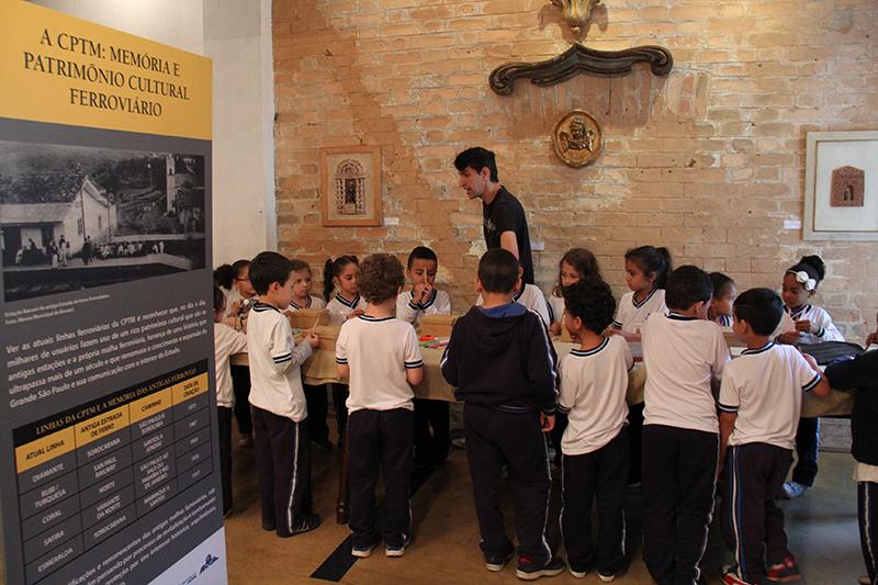 """""""Memória Ferroviária"""" é tema de exposição no Museu de Barueri"""