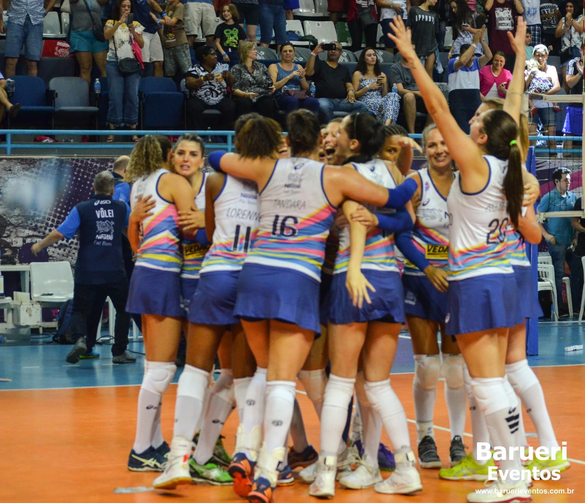 Campeonato Paulista Feminino de Vôlei – Final : Vôlei Nestlé x Hinode Barueri