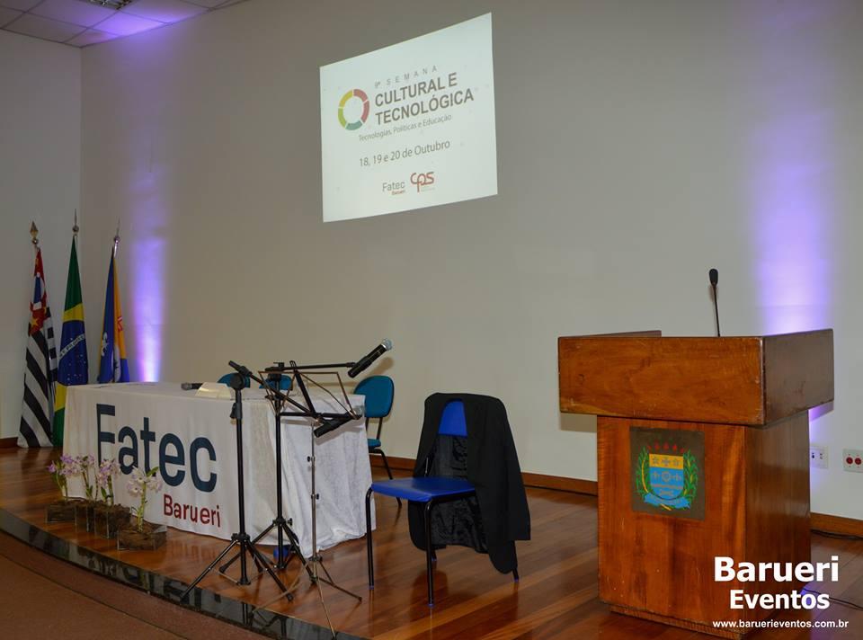9ª Semana Cultural e Tecnológica da Fatec Barueri