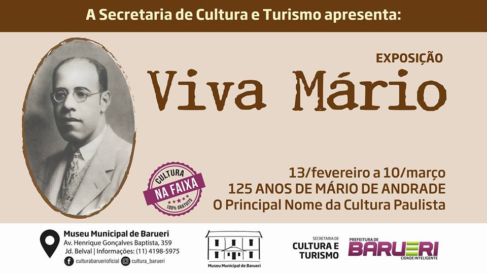 Exposição Viva Mário