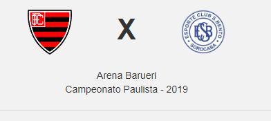 Campeonato Paulista : Oeste Barueri x São Bento