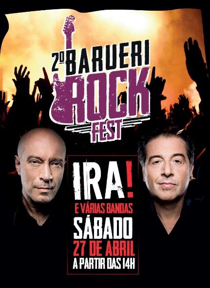 2º Rock Fest Barueri 2019 -Show com IRA!