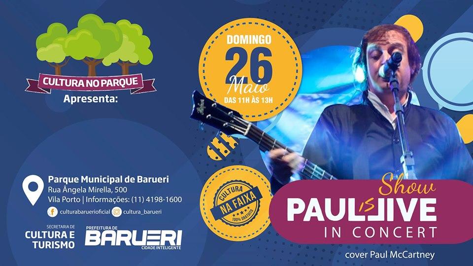 Paul Is Live In Concert