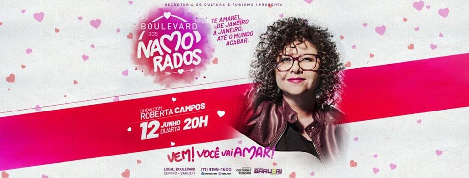 Roberta Campos em Barueri no Boulevar dos Namorados