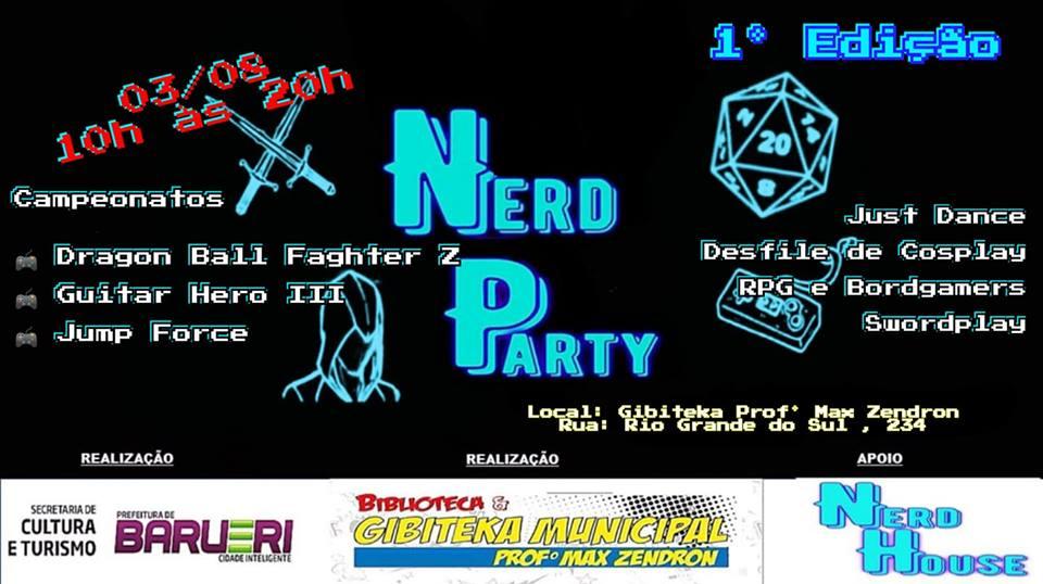 Nerd Party – Gibiteka Max Zendron