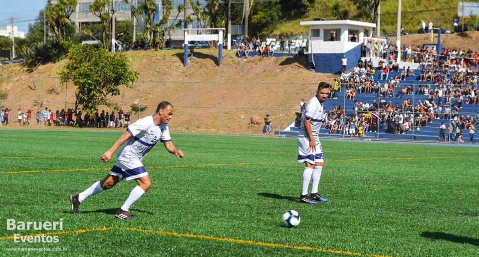 Jandira inaugura o Estádio Municipal com a presença do Capitão Cafu