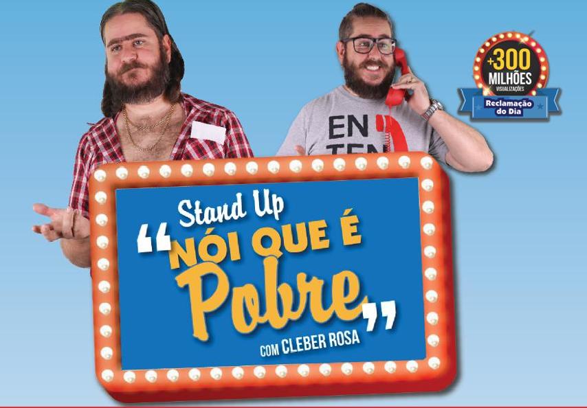 """Stand UP """"Nói Que é Pobre"""""""