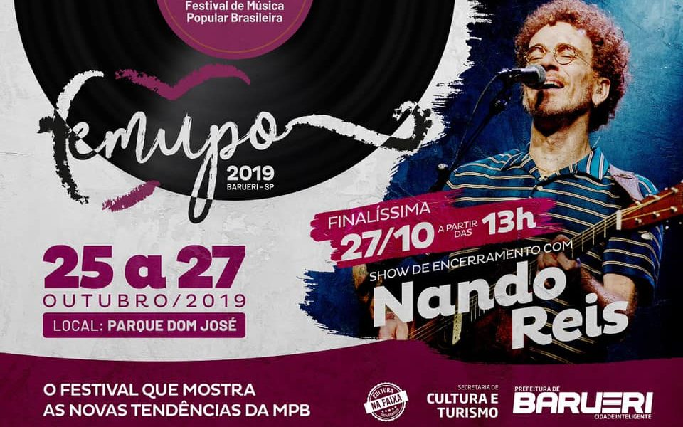 Femupo 2019 – Show com Nando Reis