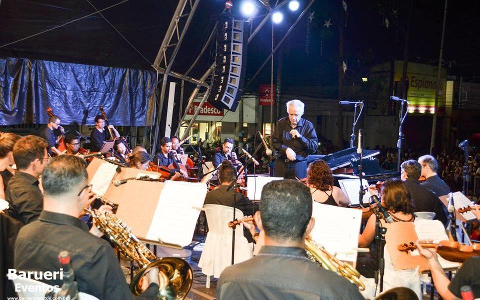 João Carlos Martins e Orquestra Bachiana abremNatal Encantado