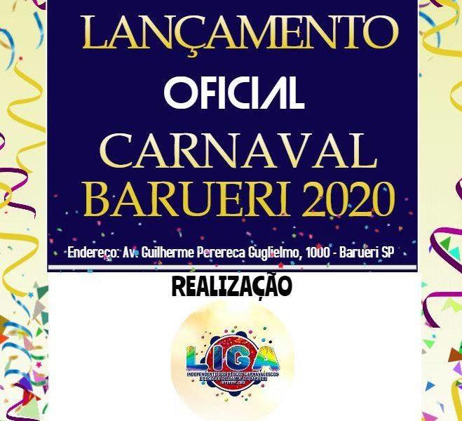 Lançamento oficial do Carnaval 2020 de Barueri