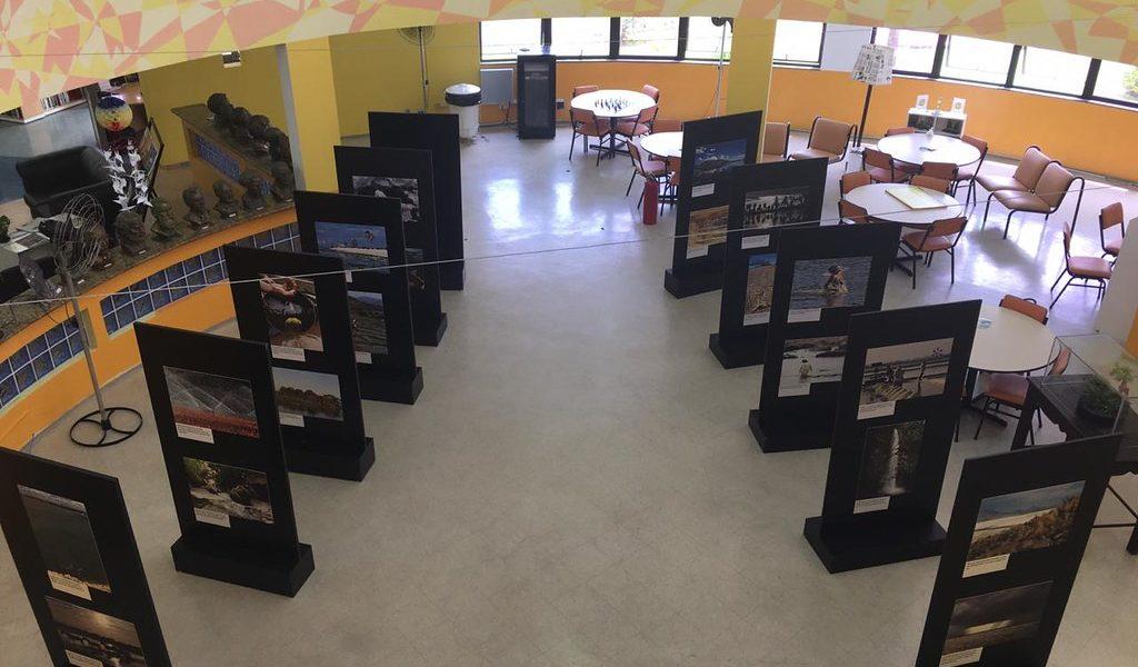 """Exposição """"Água,Conservação e Cultura"""" é aberta na BibliotecaEnyCordeiro"""