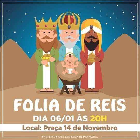 Folia de Reis em Santana de Parnaíba