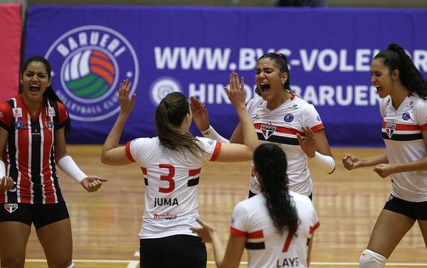 Superliga de Voleibol Feminino: São Paulo/Barueri X Valinhos