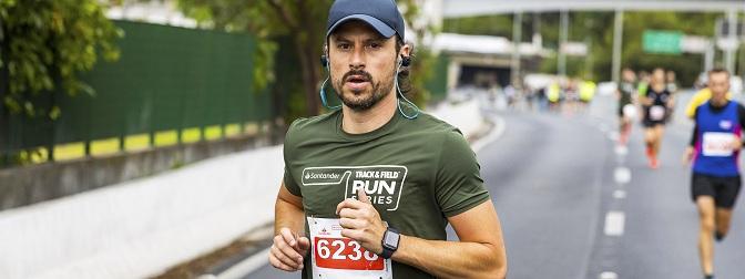 Santander Track&Field Run Series em Barueri
